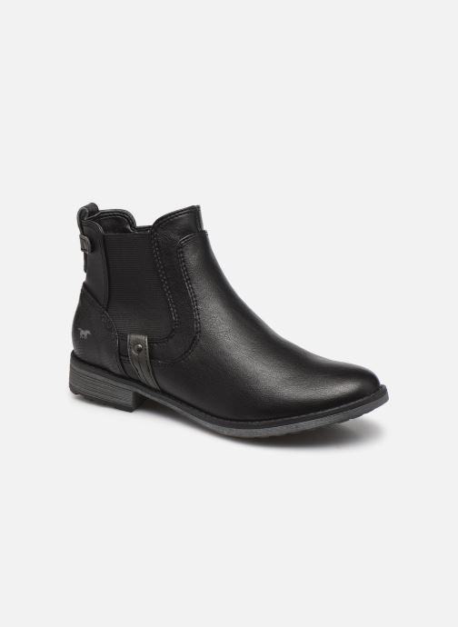 Bottines et boots Mustang shoes Temuco Noir vue détail/paire