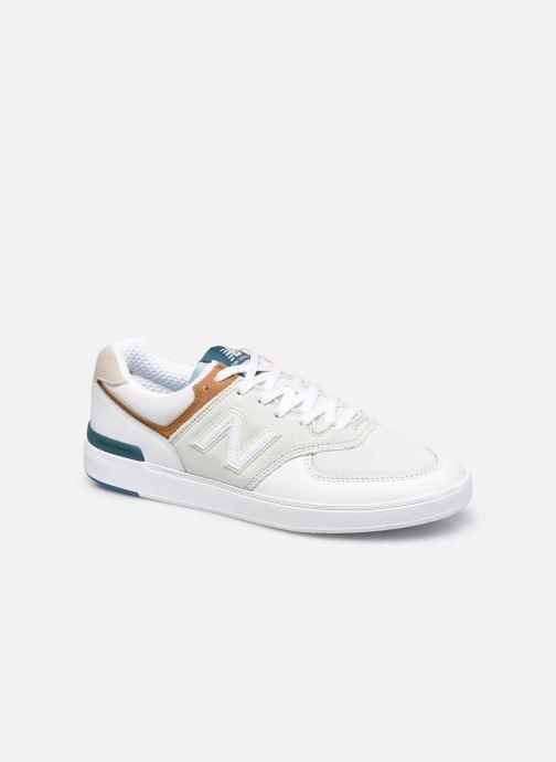 Sneaker New Balance AM574 weiß detaillierte ansicht/modell