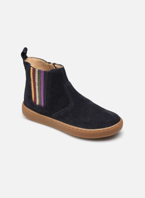 Bottines et boots Shoo Pom Play New Shine Bleu vue détail/paire