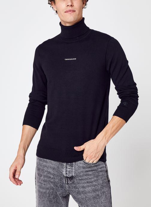 Vêtements Accessoires Micro Branding Roll Neck Sweater