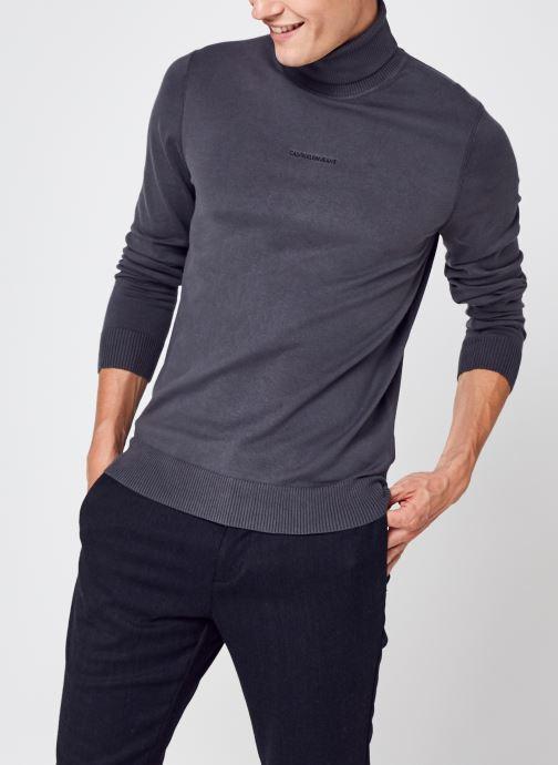 Abbigliamento Accessori Micro Branding Roll Neck Sweater