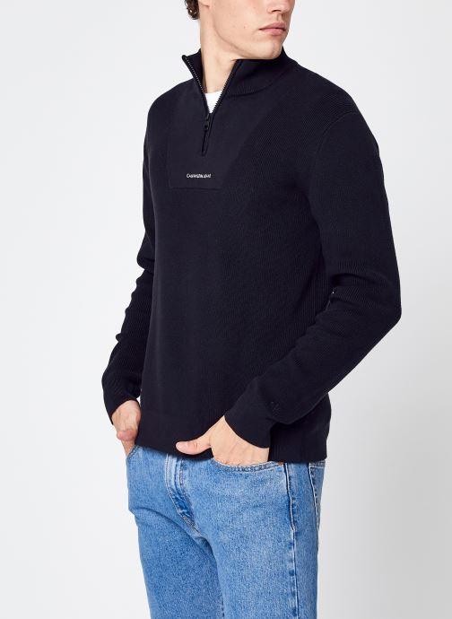 Abbigliamento Accessori Micro Branding Half Zip Sweater