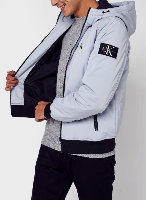 Kleding Accessoires Hooded Padded Harrington Jacket