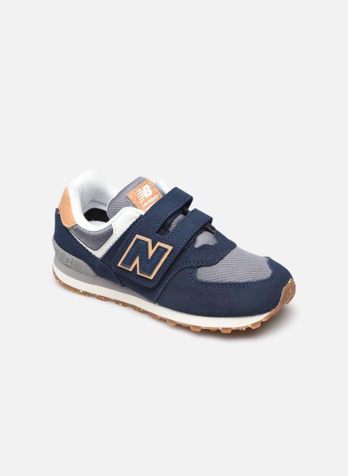 Sneaker New Balance PV574 blau detaillierte ansicht/modell