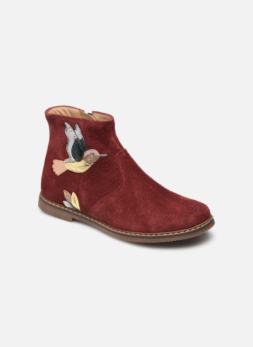Bottines et boots Pom d Api City Colibri Bordeaux vue détail/paire