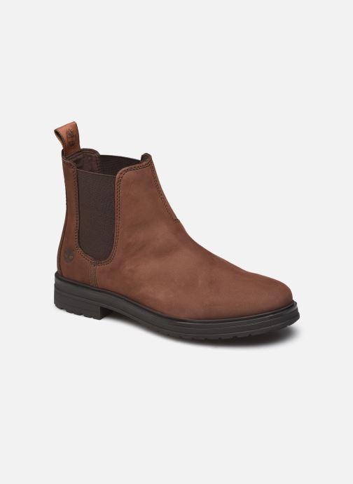 Bottines et boots Timberland Hannover Hill Chelsea Marron vue détail/paire