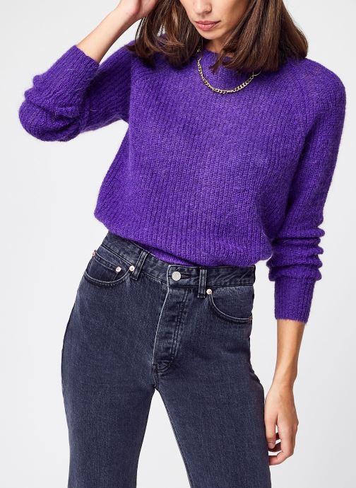 Vêtements Garance Kisi Violet vue détail/paire