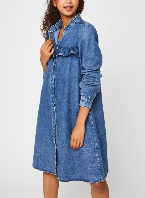 Vêtements Accessoires Pcfifi Ls Ruffle Shirt Dress Bc