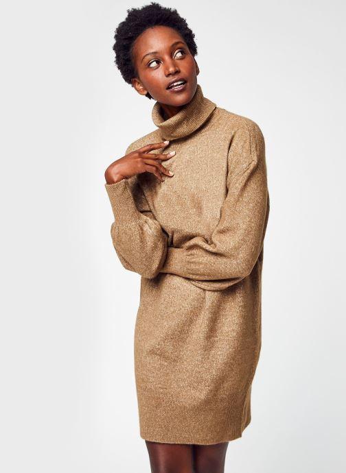 Vêtements Accessoires Pcfabia Ls High Neck Knit Dress Bc
