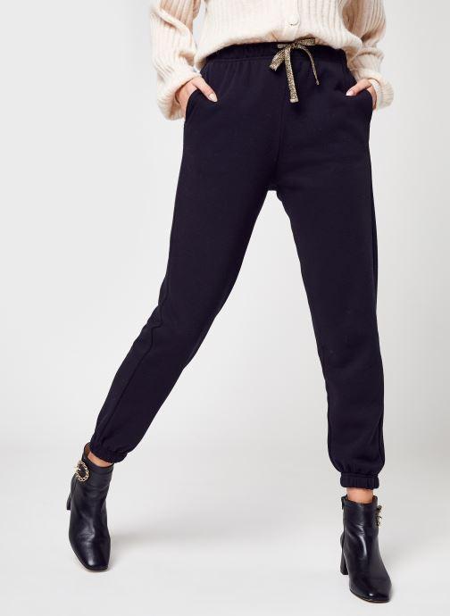 Vêtements Pieces Pcchilli Hw Heart Sweat Pants D2D Noir vue détail/paire