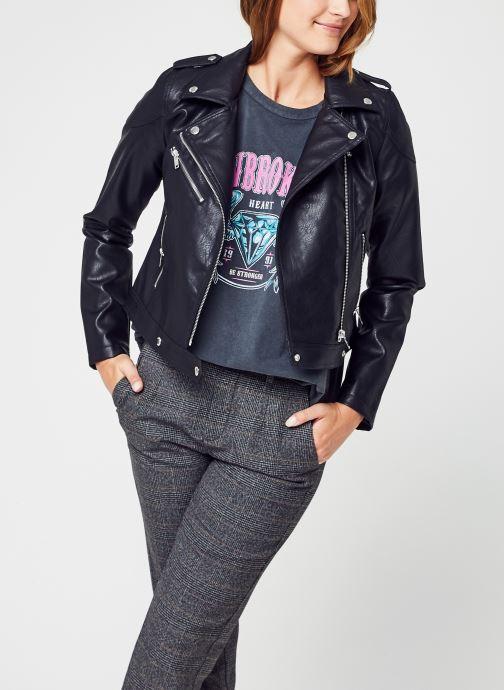 Vêtements Noisy May Nmrollo L/S Jacket Noos Noir vue détail/paire