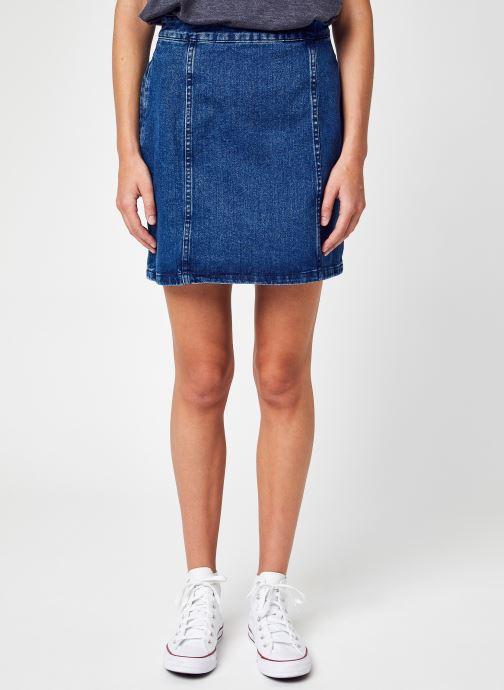Kleding Noisy May Nmperi Hw  Skirt Bi048Mb Bg Noos Bg Blauw detail