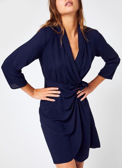 Vêtements Y.A.S Yasmidda 3/4 Dress - Df S. Bleu vue détail/paire