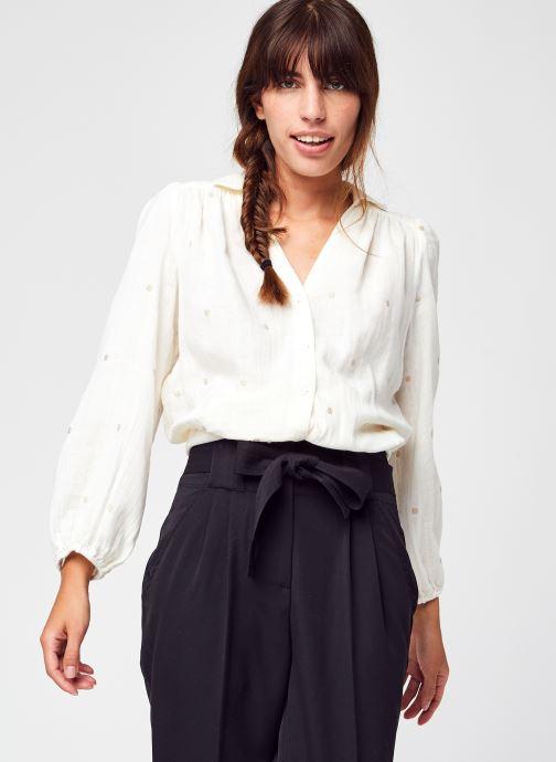 Vêtements Y.A.S Yaschuma 3/4 Tie Shirt S. Blanc vue détail/paire