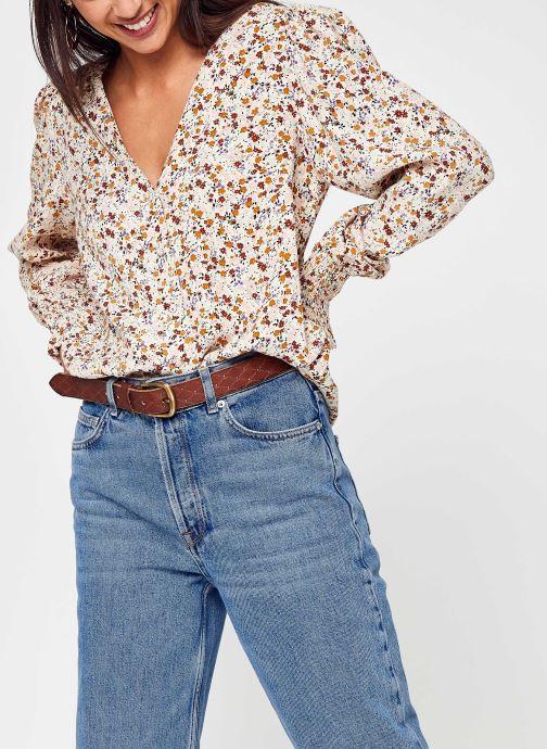 Vêtements Y.A.S Yasrolea Ls Shirt S. Blanc vue détail/paire