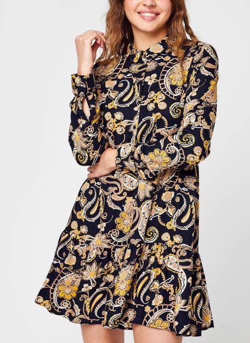 Kleding Accessoires Vmmindi Alli Ls Short Dress Wvn Lcs
