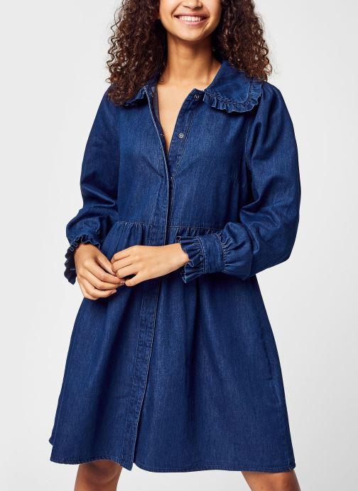 Vêtements Accessoires Vmnova Ls Short Denim Dress
