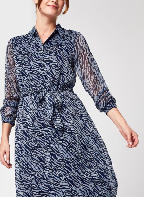 Vêtements Accessoires Vmrylee Mally Ls Ankle Shirt Dress Vma