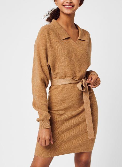 Vêtements Accessoires Vmsunna Ls V-Neck Collar Dress Ga