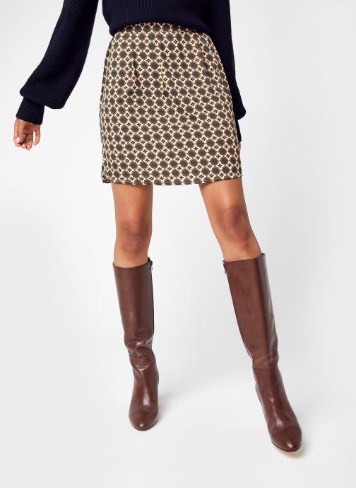 Vêtements Vero Moda Vmfilo Short Skirt Wvn Lcs Beige vue détail/paire