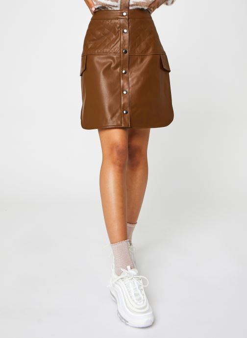 Ropa Accesorios Vmloving Hw Above Knee Coated Skirt