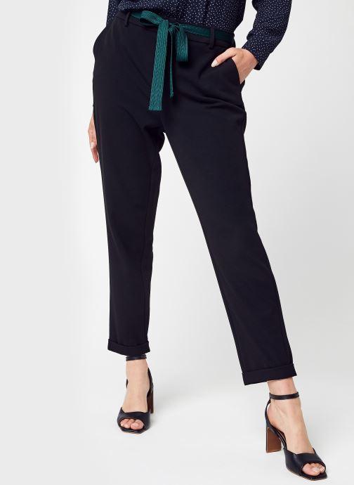 Vêtements Vero Moda Vmkaya Mr Loose Tapered Belt Pant Lcs Noir vue détail/paire