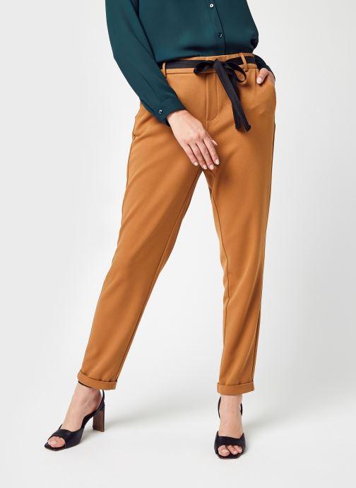 Vêtements Vero Moda Vmkaya Mr Loose Tapered Belt Pant Lcs Marron vue détail/paire