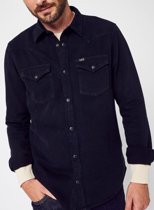 Kleding Accessoires Regular Western Shir Black