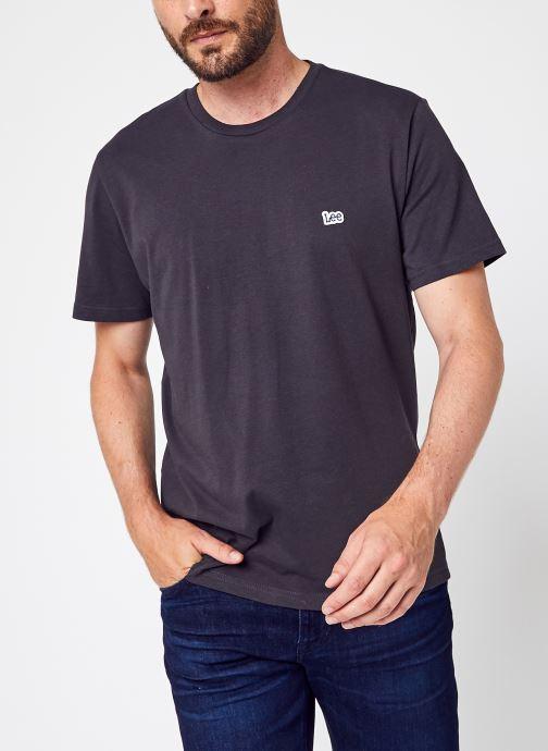 Abbigliamento Accessori Ss Patch Logo Tee Washed Black