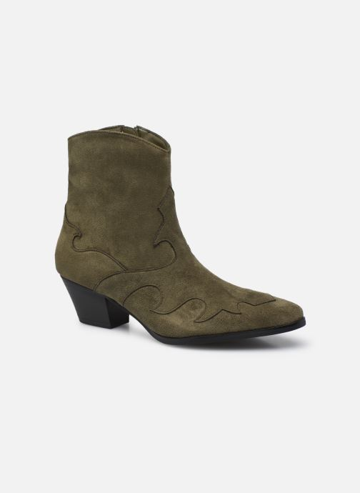 Bottines et boots Vanessa Wu BT2291 Vert vue détail/paire