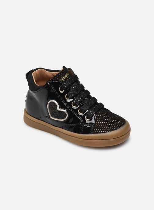 Bottines et boots Babybotte Anto Noir vue détail/paire