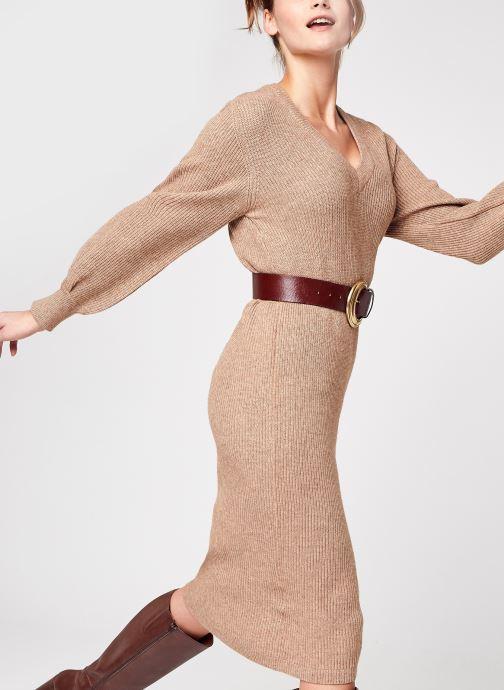 Vêtements Accessoires Objmalena L/S Knit Dress Noos