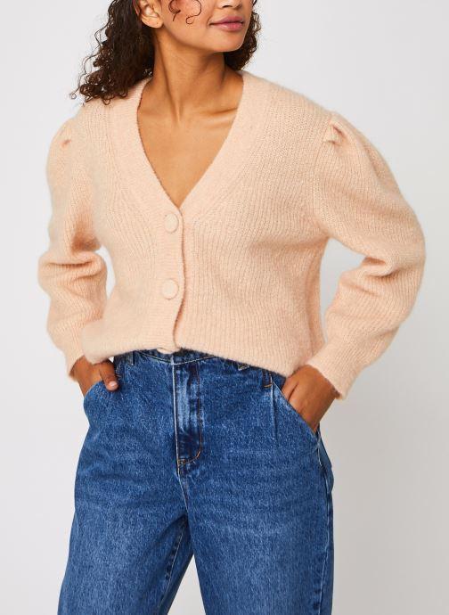 Abbigliamento OBJECT Objpascalia 3/4 Short Knit Cardigan 116 Rosa vedi dettaglio/paio