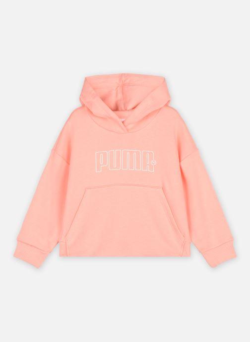 Vêtements Puma G Rbl Hoody Tr Rose vue détail/paire
