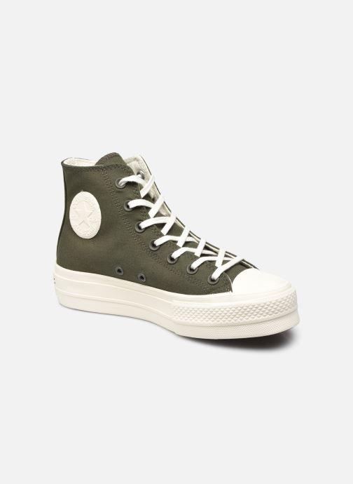 Sneakers Converse Chuck Taylor All Star Lift Groen detail