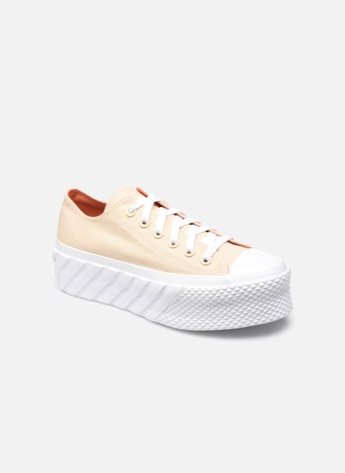 Sneakers Converse Chuck Taylor All Star Lift 2x Geel detail