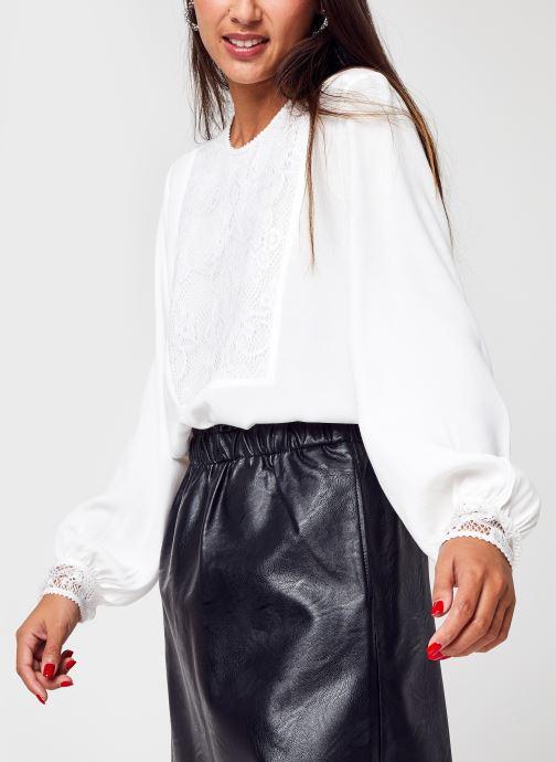Vêtements School Rag Chypre Blanc vue détail/paire