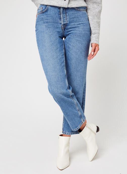 Kleding Accessoires Slfkate Hw Straight Air Blue Jean U