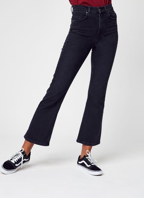 Abbigliamento Selected Femme Slfkaylee Hw Jazz Black Crop Flar Jean U Nero vedi dettaglio/paio