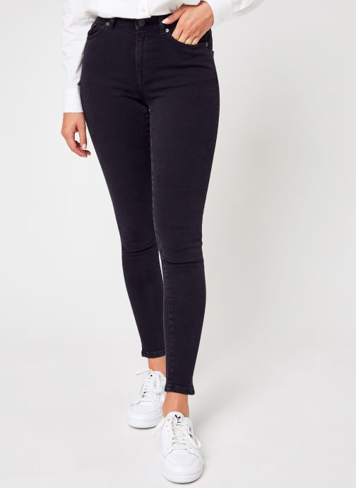 Vêtements Accessoires Slfsophia Mw Skinny  Black Jeans U Noos