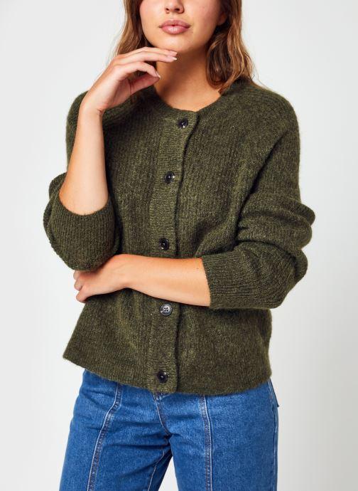 Vêtements Accessoires Slflulu Ls Knit Short Cardigan B Noos