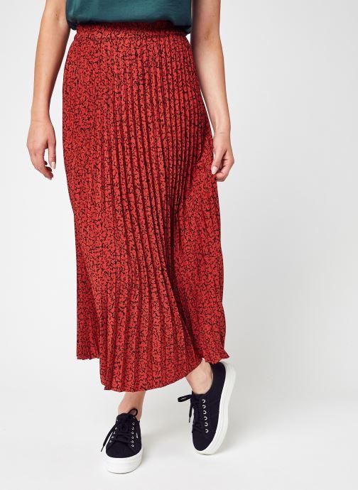 Kleding Accessoires Slfalexis Mw Aop Midi Skirt B Noos