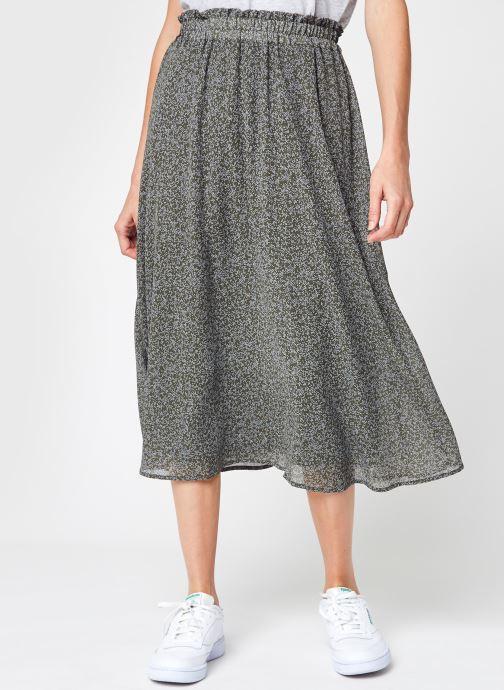 Vêtements Selected Femme Slfgaia Mw Midi Skirt M Vert vue détail/paire