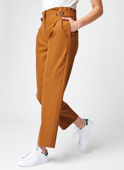 Kleding Selected Femme Slfleva Hw Pant B Bruin detail