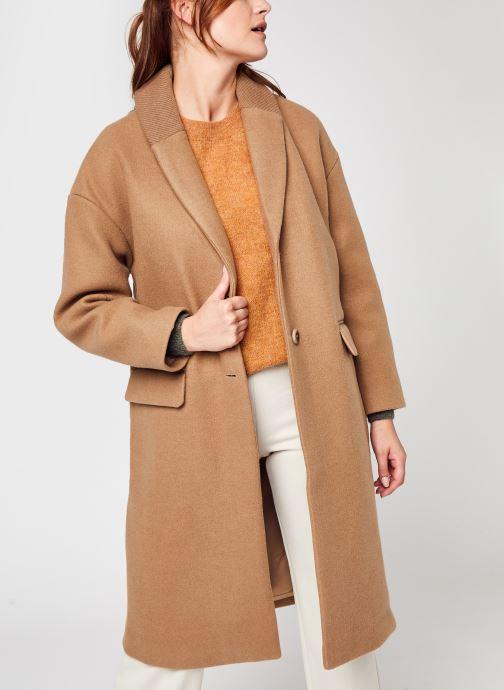 Kleding Accessoires Vicallee Wool Coat/Su - Noos