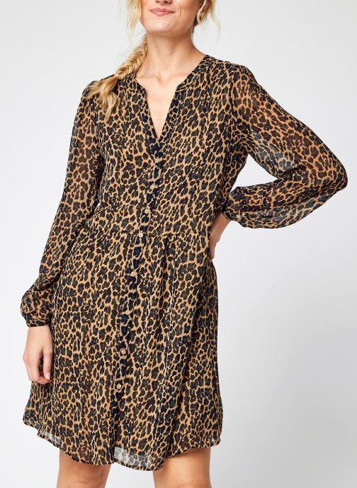 Vêtements Vila Viamione L/S Dress/Su - Noos Marron vue détail/paire