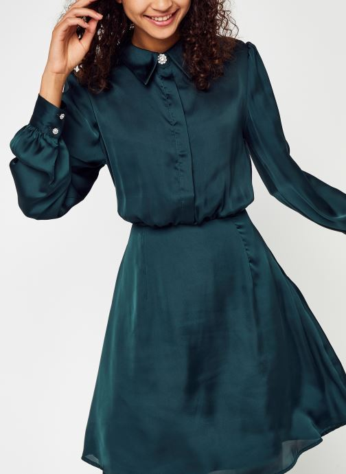 Kleding Accessoires Vicajsa L/S Diamond Shirt Dress/Su