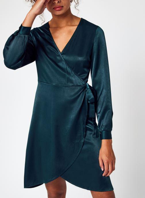 Kleding Accessoires Vikalli Satin L/S Dress/Su