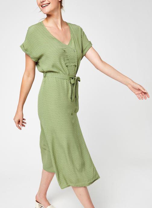 Vêtements Vila Vironda Capsleeve Midi Dress Vert vue détail/paire
