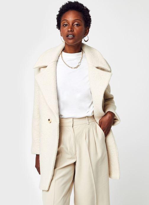 Vêtements Accessoires Vitea Collar Wool Boucle Coat/Su/Ls